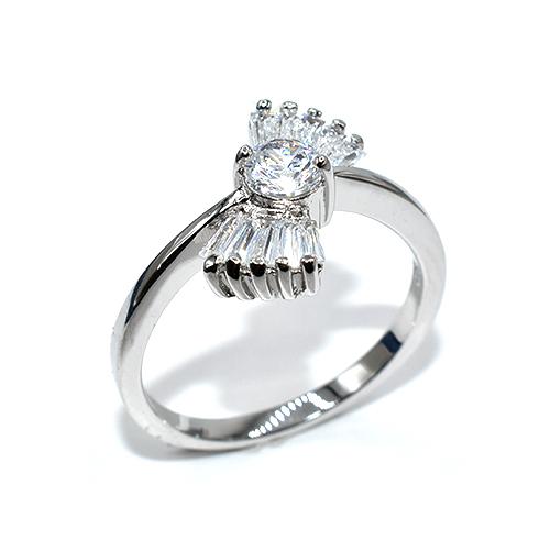 Δαχτυλίδι ασήμι 925 με πέτρες ζιργκόν f4c9e5f0cbd