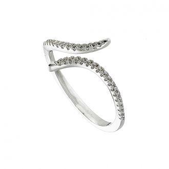 Δαχτυλίδι ασημένιο 925 επιπλατινωμένο σε ασημί με πέτρες ζιργκόν 2a366044458